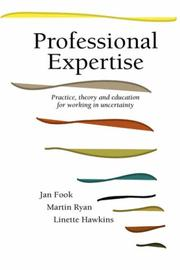 Cover of: Professional expertise | Jan Fook