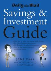 Cover of: Daily Mail Savings and Investment Guide | Jane Vass