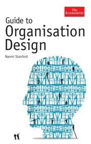 Cover of: Guide to Organisation Design | Naomi Stanford