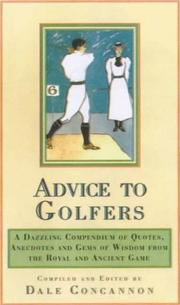 Cover of: Wise Words for Golfers by Dale Concannon