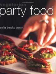 Cover of: Vegetarian Party Food | Celia Brooks Brown
