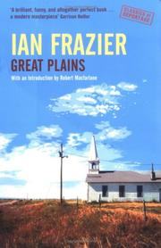 Cover of: Great Plains | Ian Frazier