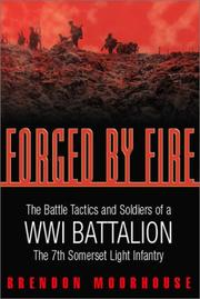 Cover of: FORGED BY FIRE | Brendon Moorhouse