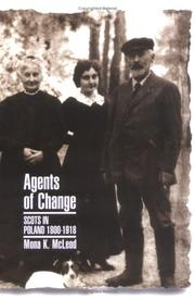 Cover of: Agents of change | Mona McLeod