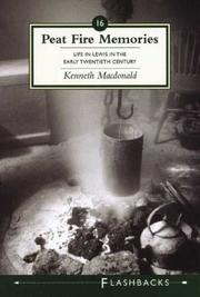 Cover of: Peat Fire Memories | Kenneth Macdonald