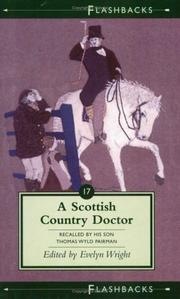 Cover of: A Scottish Country Doctor | Thomas Wyld Pairman