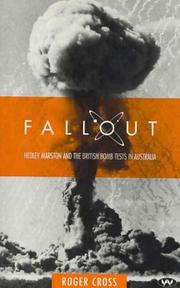 Cover of: Fallout | Roger Cross