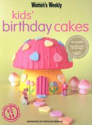 Cover of: Kids' Birthday Cakes | Susan Tomnay