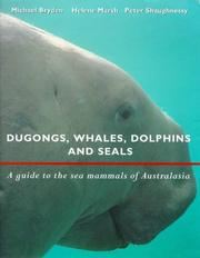 Cover of: Dugongs, whales, dolphins and seals by M. M. Bryden