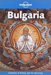 Cover of: Lonely Planet Bulgaria by Paul Greenway