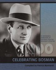 Cover of: Herman Charles Bosman 1905-2005 by Patrick Mynhardt