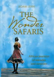 Cover of: The wonder safaris by Adam Levin