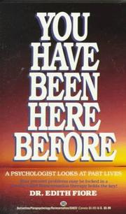 Cover of: You Have Been Here Before | Edith Fiore