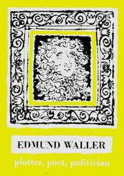 Cover of: Edmund Waller | Edmund Waller