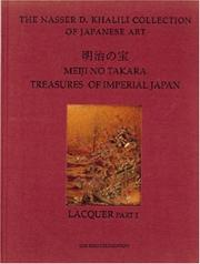 Cover of: MEIJI NO TAKARA: TREASURES OF IMPERIAL JAPAN by Goke Tadaomi