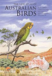 Cover of: The new atlas of Australian birds | Geoff Barrett