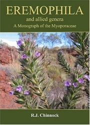 Cover of: Eremophila and Allied Genera | R. J. Chinnock