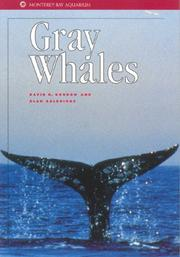 Cover of: Gray whales | David G. Gordon