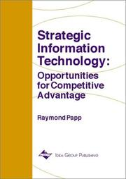 Cover of: Strategic Information Technology | Raymond Papp