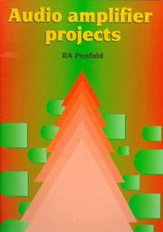 Cover of: Audio Amplifier Projects | Model Railway Projects