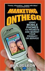 Cover of: Marketing on the Go | Ben Deleon