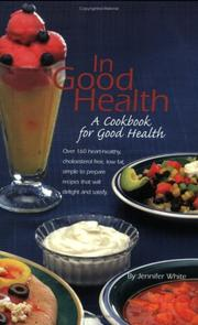 Cover of: In Good Health | Jennifer White