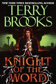Cover of: A Knight of the Word | Terry Brooks