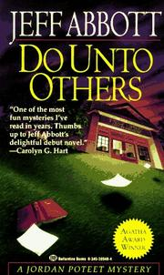Cover of: Do Unto Others | Jeff Abbott