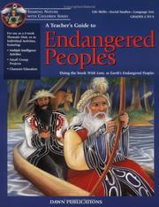 Cover of: A Teacher's Guide to Endangered Peoples | Virginia Kroll