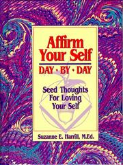 Cover of: Affirm Your Self Day by Day | Suzanne E. Harrill