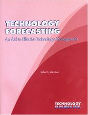Cover of: Technology Forecasting | John H Vanston