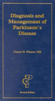 Cover of: Diagnosis and management of Parkinson's disease | Cheryl H. Waters