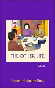 Cover of: The other life by Andrea Hollander Budy