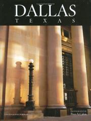 Cover of: Dallas, Texas by Peter A. Calvin