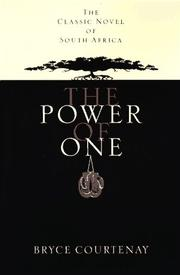 Cover of: The power of one by Bryce Courtenay