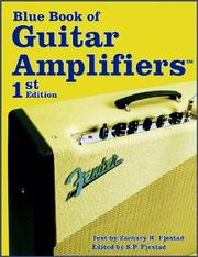 Cover of: The Blue Book of Guitar Amplifiers (Guitar Reference) by S. P. Fjestad