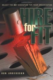 Cover of: Hire for Fit | Don Andersson