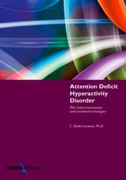 Cover of: Attention deficit hyperactivity disorder | C. Keith Conners