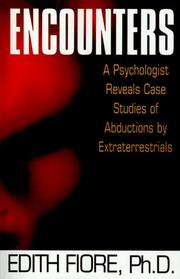 Cover of: Encounters | Edith Phd Fiore