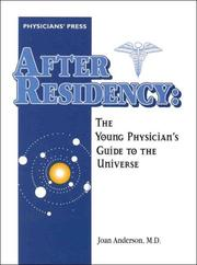 Cover of: After Residency | Joan Anderson