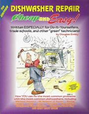 Cover of: Cheap and Easy! Dishwasher Repair | Douglas Emley