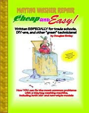 Cover of: Cheap and Easy! Maytag Washer Repair | Douglas Emley