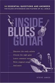 Cover of: Inside blues guitar | Steve James