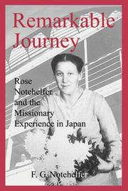 Cover of: Remarkable Journey | F.G. Notehelfer