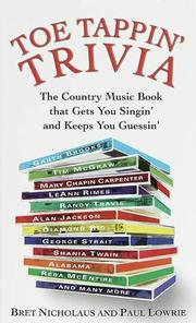 Cover of: Toe tappin' trivia | Bret Nicholaus