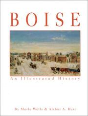 Cover of: Boise an Illustrated History by Arthur A. Hart