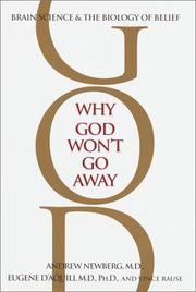 Cover of: Why God won't go away | Andrew B. Newberg