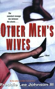 Cover of: Other men's wives by Freddie Lee Johnson