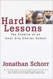Cover of: Hard Lessons | Jonathan Schorr