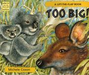 Cover of: Too Big! | Michele Coxon